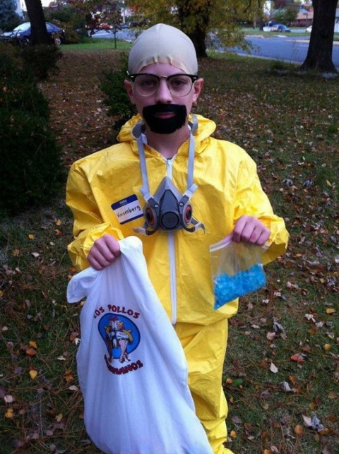 Breaking Bad Walter White Heisenberg kid costume cosplay